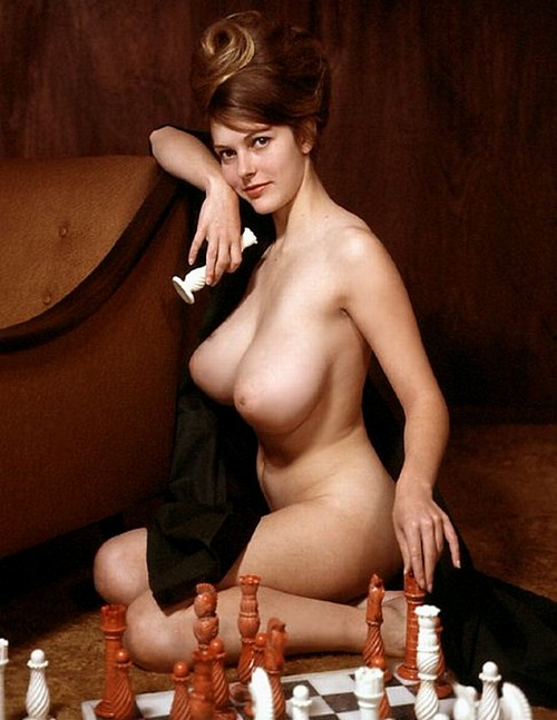 Melissa Windsor playing chess